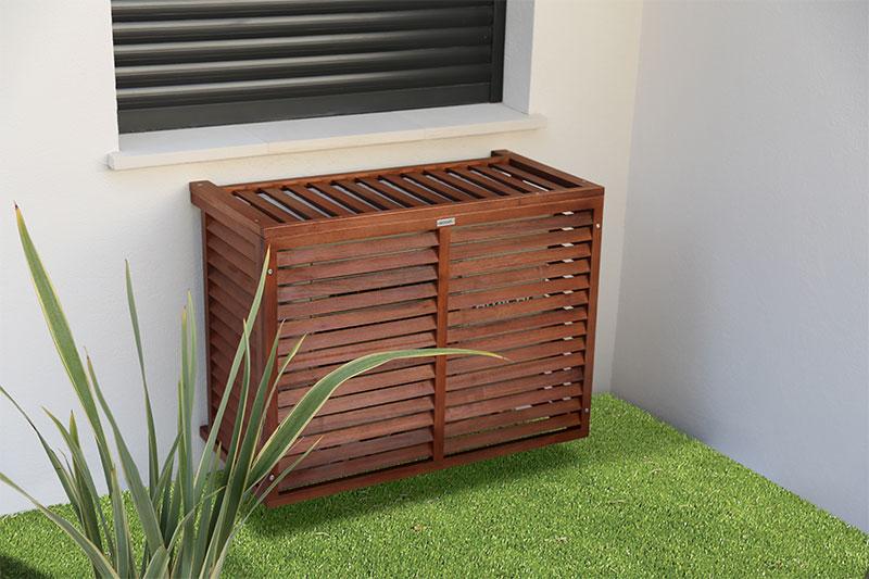 cache clim bois acacia plusieurs tailles climatic boutique. Black Bedroom Furniture Sets. Home Design Ideas