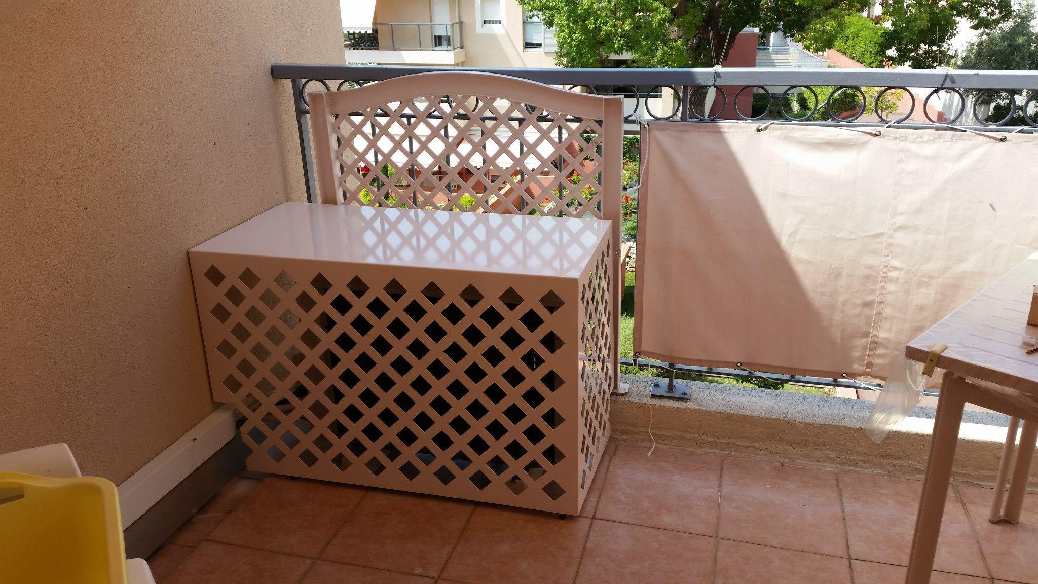 cache clim design galaxie et vegetation metal acier climatic boutique. Black Bedroom Furniture Sets. Home Design Ideas