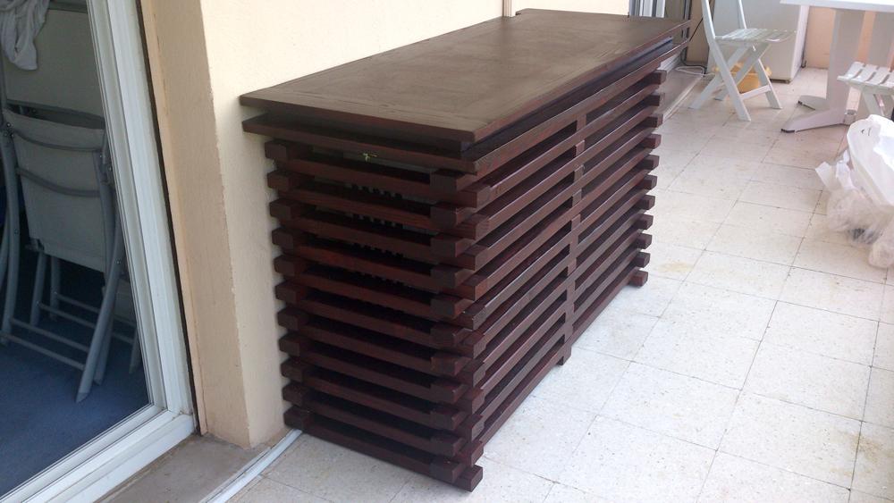 cache unit ext rieure climatisation buffet en bois climatic boutique. Black Bedroom Furniture Sets. Home Design Ideas