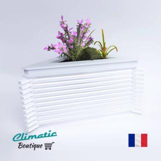 cache climatisation avec bac à fleur